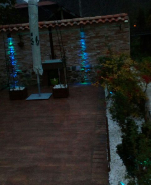 Diseño de patio y jardín