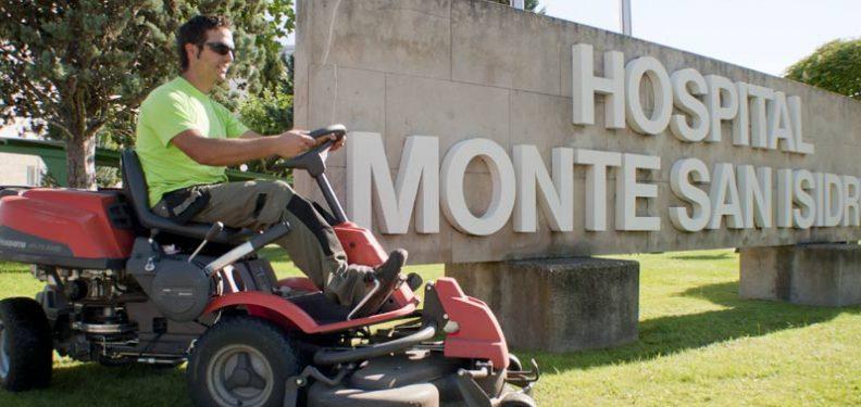 Mantenimiento Jardines Monte San Isidro